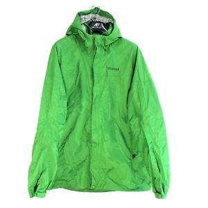 Marmot Homme Veste Taille L Coupe-Vent Respirant Vert
