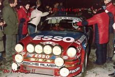 Guy Frequelin Porsche 911 SC Monte Carlo Rally 1982 Photograph 1