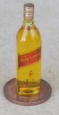 1:12 Scale Glass Bottle Of Johnnie Walkers Red Label Whisky Tumdee Dolls House
