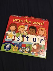 Orchard Toy Pass The Word Puzzle Educational Toy