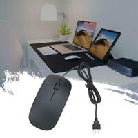 WIRED USB OPTICAL MOUSE For PC LAPTOP COMPUTER SCROLL NEW LED WHEEL G0K1