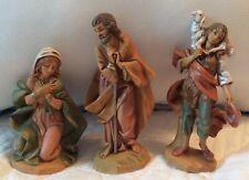 3 Fontanini Roman Renaissance Collection Navity Mary Joseph Shepherd Lot 4.5�