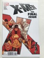 Uncanny X-Men 544, Marvel 2011, Final Issue Of Vol 1, Greg Land Xmen