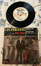 Disque 45 tours Les Pirates Avec Dany Logan ‎- Madison Time - 211071
