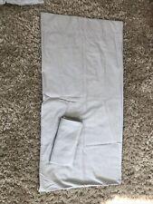 Casaluna King Supima Cotton Top Sheet Two Pillowcases Light Grey Amazing Beddin