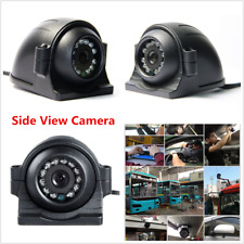 12-24V CCD Side View Color Camera 12 IR LEDs Night Vision 4Pin For Car Truck Bus