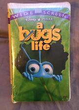 A Bug's Life (Widescreen Edition) VHS Tape New SEALED Pixar