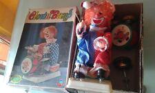clown band bambola vintage a batteria