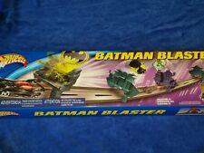 Hot Wheels Batman Blaster Gotham City track set and Batmobile New, never opened