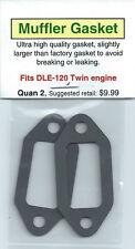 DLE-120 Twin Exhaust/Muffler Gasket 2 Pack NIP