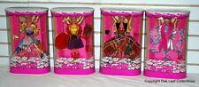 Philippines Private Collection Barbie Doll Foreign Set of 4 Dolls 1994 NRFB