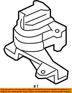 FORD OEM-Engine Motor Mount/Torque Strut 8T4Z6038A