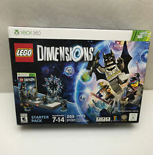 LEGO Dimensions: Starter Pack (Microsoft Xbox 360, 2015) new