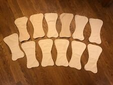 Babee Greens cloth diaper liners / doublers, 100% organic cotton, 12 included