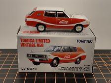 Tomytec Tomica Limited Vintage 1/64 LV- N67A Nissan Skyline Van Coca Cola