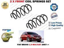 FOR FIAT BRAVO II 1.9D MULTIJET 198 + SPORT 2007-> NEW 2X FRONT COIL SPRINGS SET