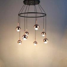 LED Glass Chandelier Dining Room Pendant Light Fixtures Ceiling Lamp Lighting