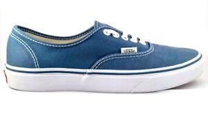 Vans TC9R Blue Low Canvas Unisex Sneakers USM 8, USW 9.5, 25.7 cm