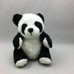 Panda Plush Stuffed Animal Toy Dan Dee Black White