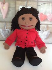 """The Puppet Company 24"""" Girl Skin Hand Puppet Ventriloquist Doll"""