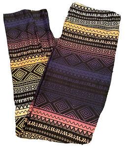 LuLaRoe TC Leggings - Gorgeous Multicolored Aztec/Tribal Print