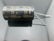 2pcs Elna Capacitors RBD 1000uf 35V Audio Series Bi Polar Capacitors