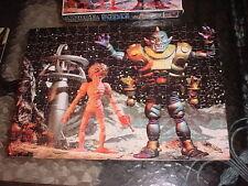 1977 Space Warriors Coloforms Outer Space Man Alien Puzzle Orbitron Cyclops