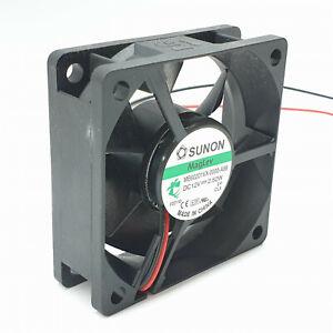 Sunon Maglev Cooling Fan MB60201VX-0000-A99 DC12V 2.52W 60x60x20mm 2 Pin 6cm