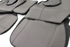TOYOTA LANDCRUISER 100 SERIES SEAT COVERS FRONT CANVAS BUCKET 3/4 STANDARD MODEL
