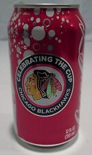 Chicago Blackhawks 2010 Celebrating the Stanley Cup Coca Cola Can Full