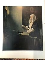 "National Gallery of Art, Vermeer ""A Woman Weighing"" Print, 11"" x 14 1/2"" (Paper)"