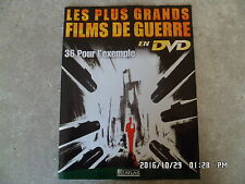 FASCICULE GRANDS FILMS DE GUERRE N°36 POUR L'EXEMPLE Dirk Bogarde   H5