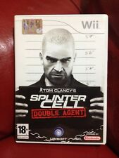Gioco Nintendo Wii PAL Splinter Cell Double Agent Tom Clancy's