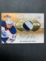 2013-14 Fleer Showcase Hot Prospects #199 Nail Yakupov Rookie Auto Patch /175 RC