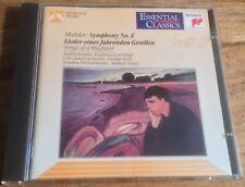 SONY ESSENTIAL CLASSICS SBK 46535 MAHLER sym no.4*songs of a wayfarer SZELL CD