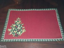 Villeroy & Boch CHRISTMAS EVE 2014 Toy's Delight Tree Cloth Place Mat