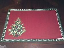 Villeroy & Boch CHRISTMAS EVE 2013 Toy's Delight Tree Cloth Place Mat