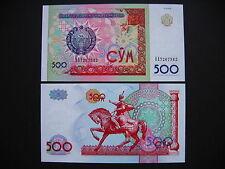 UZBEKISTAN  500 Sum 1999  (P81)  UNC
