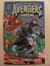 Avengers The Crossing #1 Marvel Comics 1995 One Shot Chrome Foil Cover 9.6 NM+