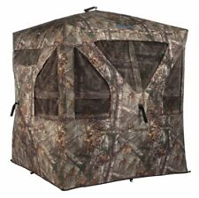 AmeriStep Camouflage Crush Silencer Hunting Ground Blind w/Windows Realtree Xtra