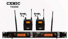 Pro Audio Uhf Wireless In Ear Monitor System 100 Channel Monitoring Studio Stage