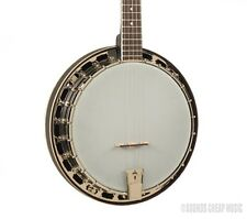 Recording King RKS-06 Starlight Midnight Grey Resonator Banjo - 24 Bracket! New!