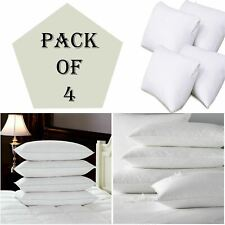 Duck Feather & Down Pillows Extra Filled Luxury Hotel Premium Quality Pack Of 4