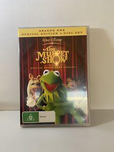 The Muppet Show : Season 1 (DVD, 2011, 4-Disc Set)  Region 4