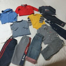 Boys 13 Pce Clothing Lot - Hilfiger, Gap, Osh Kosh,Place,Mexx Size 12-18 Mths
