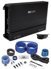 MB Quart DA1-1800.1 1800W RMS Mono Class D Car Audio Discus Amplifier+Amp kit