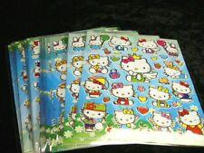 Hello Kitty 25 X A4 hojas de brillante hoja de pegatinas (523) Bolsas De Fiesta Media Relleno