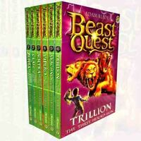Beast Quest Series 2 by Adam Blade 6 Book Collection Set Volume 1 to 6 Brand NEW