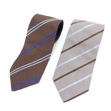 Aquascutum Neck Tie Mens Authentic Used L1094