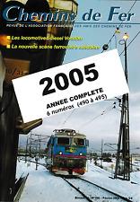 AFAC - Année 2005 (Complet) Revues de l'association des amis des Chemins de Fer